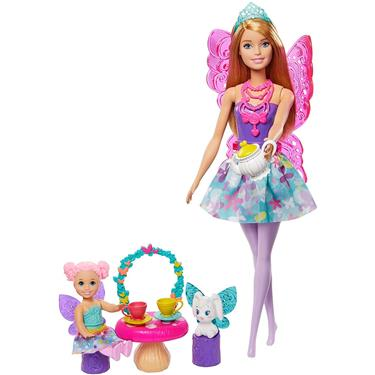 Barbie Dreamtopia Teeparty Spielset und Puppe