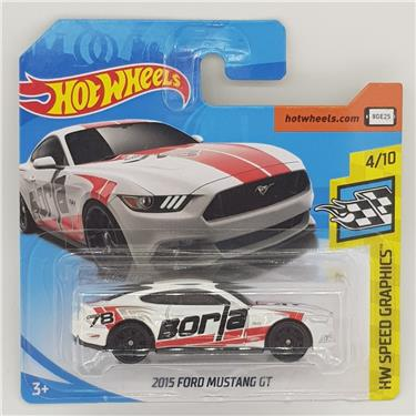 Hot Wheels 2015 Ford Mustang GT