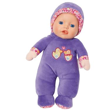 BABY born® Puppe First Love 26cm, lila