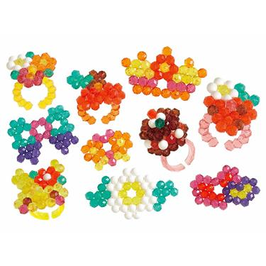 Aquabeads Glitzerring Set, Bastelset