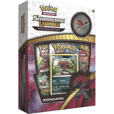 Pokémon Schimmernde Legenden Pin Box Zoroark