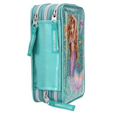 Depesche Fantasy Model 3-fach Federtasche Mermaid