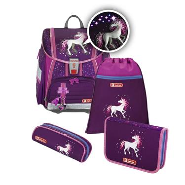 Step by Step TOUCH 2 FLASH Schulranzen-Set Unicorn, 4-teilig