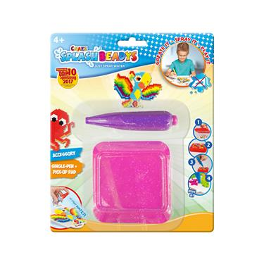 Craze Splash Beadys Single Pen mit Board, sortiert