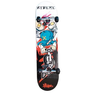 Authentic Sports Skateboard ABEC 5, No Rules, Xtreme