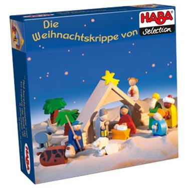 haba krippen set weihnachtskrippe duo. Black Bedroom Furniture Sets. Home Design Ideas