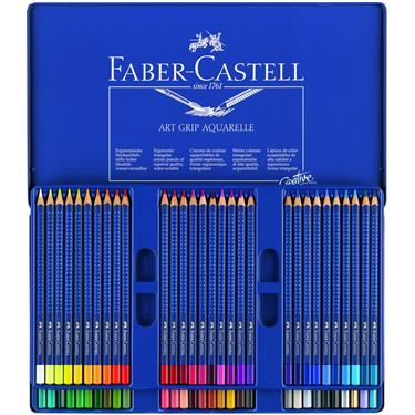 Faber-Castell Aquarellstift ART GRIP AQUARELLE 60er Etui