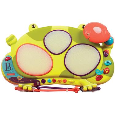 B. toys by Battat The Frog Drum