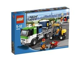 LEGO City 4206 - Recycling-Truck
