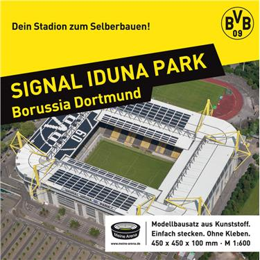 meine arena 12168000 bausatz signal iduna park borussia dortmund ma stab 1 600 duo. Black Bedroom Furniture Sets. Home Design Ideas