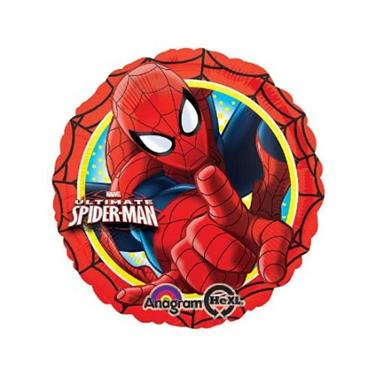 amscan Folienballon Spiderman, 43 cm