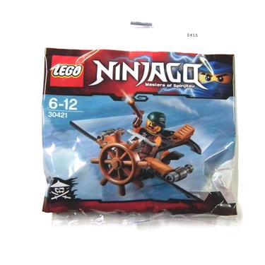 LEGO® NINJAGO 30421 Skybound Plane und Sky Pirate