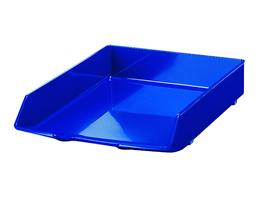 HAN - Briefablage WAVE Exklusiv, Polystyrol (PS), A4, 255 x 66 x 350 mm, blau