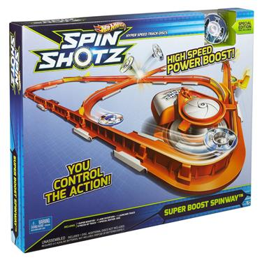 Hot Wheels Spinshotz Super Boost Spinway Spielset