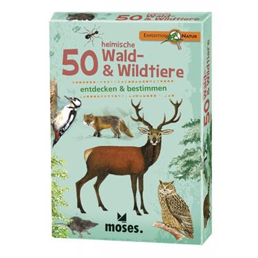 moses. Expedition Natur 50 heimische Wald- & Wildtiere