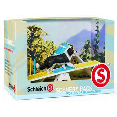 schleich 41803 scenery pack hunde agility duo. Black Bedroom Furniture Sets. Home Design Ideas