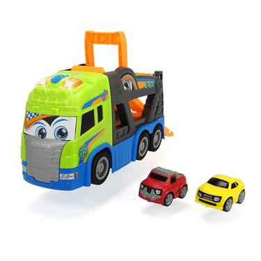 Dickie Toys Happy Scania Car Transporter