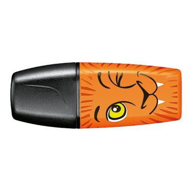 Textmarker - STABILO BOSS MINI Funnimals - orange