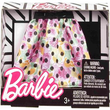Barbie Fashion Rock Punkte und Blumen