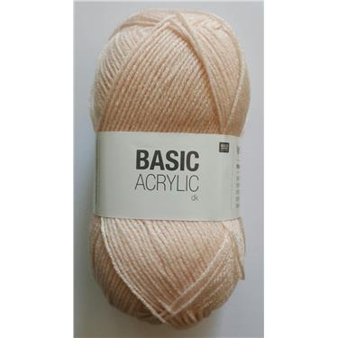 Rico Wolle Basic Acrylic dk Farbe 021, puder