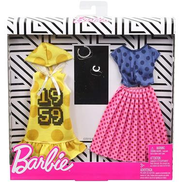 Barbie Fashions 2er-Pack Moden (gepunktet)