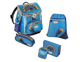 Sammies by Samsonite 102464 - Schulranzenset Pfau, 5-teilig
