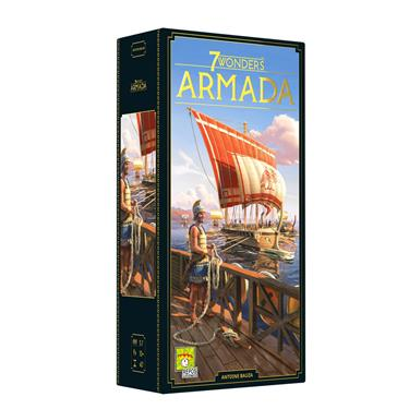 Asmodee Repos Production 7 Wonders - Armada Erweiterung