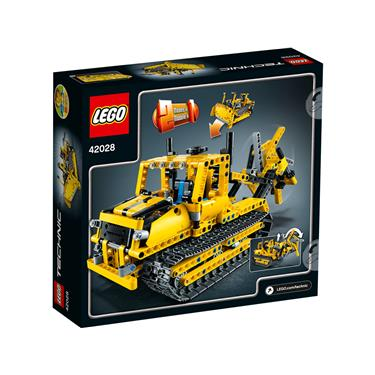 lego technic 42028 bulldozer duo. Black Bedroom Furniture Sets. Home Design Ideas
