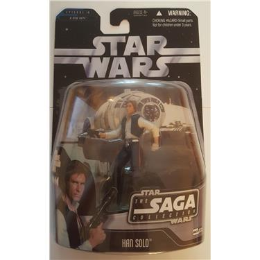 Hasbro Star Wars Figur Han Solo mit excl. Hologramm Figur