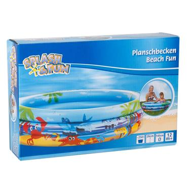 Spash & Fun Planschbecken Beach Fun 140cm