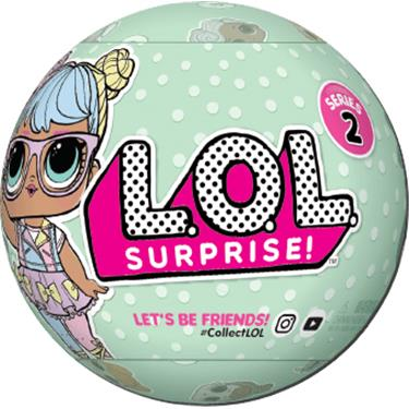 MGA Entertainment LOL Surprise Serie 2, sortiert
