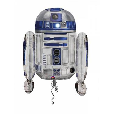 amscan Folienballon Star Wars R2D2