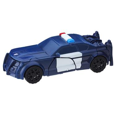 Hasbro Transformers The Last Knight 1-Step Turbo Changer Barricade