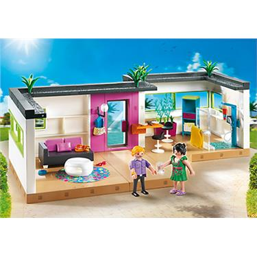 playmobil g stebungalow duo. Black Bedroom Furniture Sets. Home Design Ideas