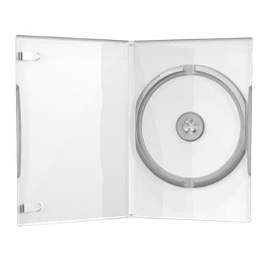 MediaRange DVD CD Hüllen slim 7mm transparent clear, 25 Stück