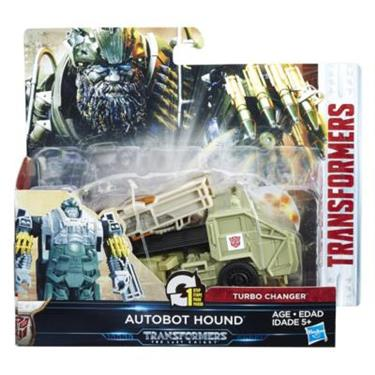 Hasbro Transformers The Last Knight 1-Step Turbo Changer Autobot Hound