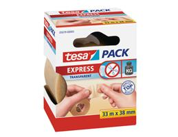 Tesa 05079 - Pack Express Packband 33m x 38mm handeinreissbar transparent