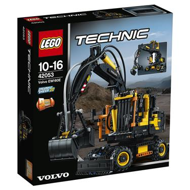 lego technic 42053 volvo ew160e duo. Black Bedroom Furniture Sets. Home Design Ideas