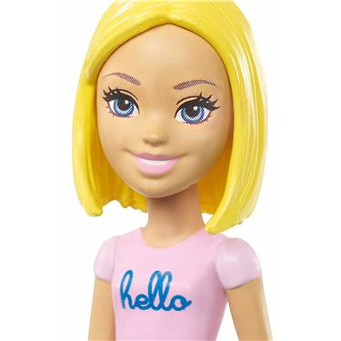 Barbie On The Go Puppe blond rosa