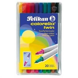 Pelikan 10er Etui Colorella Twin