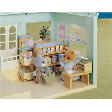 sylvanian families tante emma laden duo. Black Bedroom Furniture Sets. Home Design Ideas