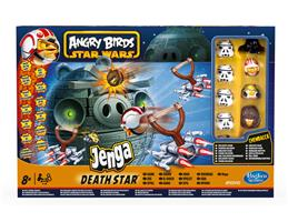 Angry Birds Star Wars Jenga Death Star Spiel
