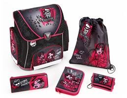 Campus Schulranzenset Monster High, 5-tlg.