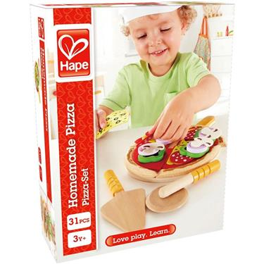 Hape Pizza Set, 31-teilig