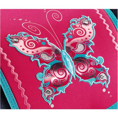Step by Step Schulranzenset TOUCH DIN Butterfly Dancer, 5-teilig
