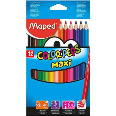 Maped Buntstifte Color Peps Maxi, 12 Stück