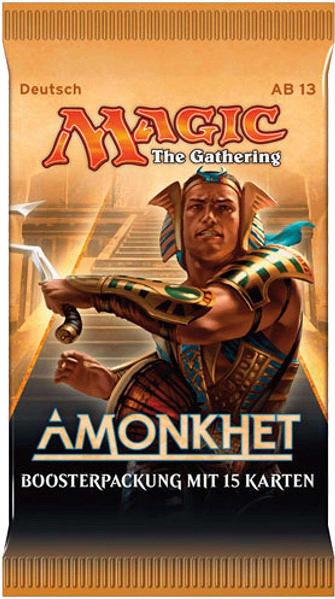 Hasbro Wizards of the Coast Magic the Gathering Amonkhet Booster DE