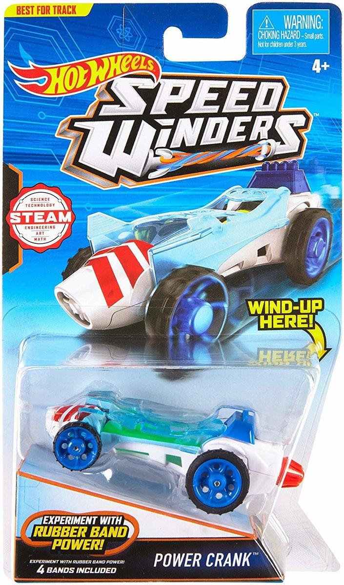 Hot Wheels Speed Winders Power Crank