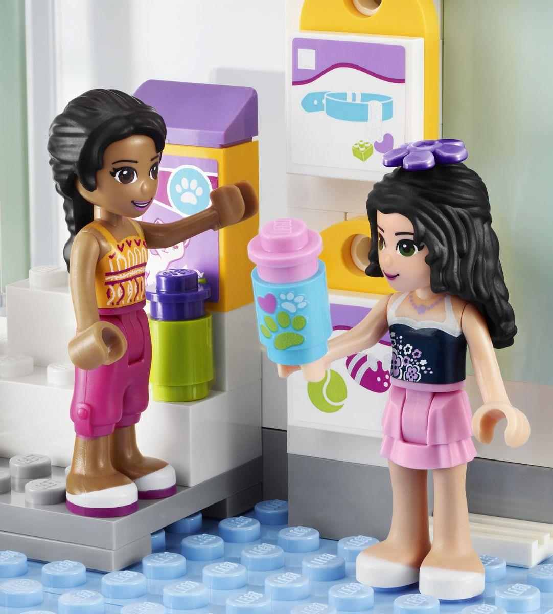 Lego friends 41007 heartlake tiersalon duo for Lego friends salon de coiffure