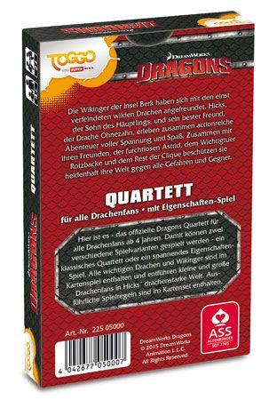 ASS Altenburger Dreamworks Dragons Quartett